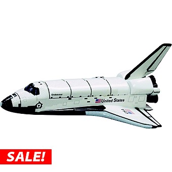 Levitating Model Space Shuttle